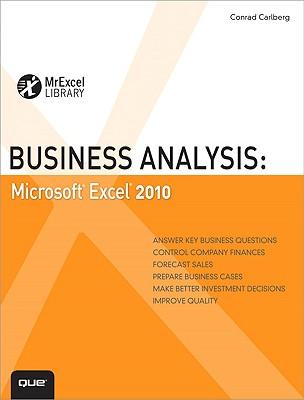 Business Analysis By Carlberg, Conrad George